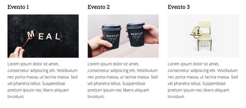 mostrar eventos the event calendar Genesis Framework