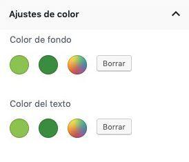 paleta de colores editor bloques Breackthrough Pro
