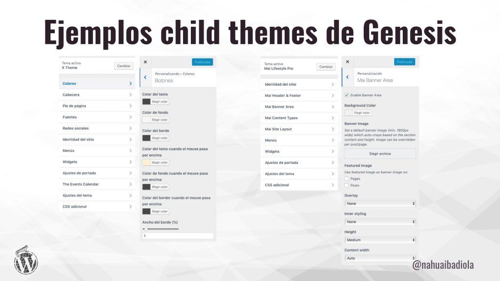 X Theme y Mai Lifestyle Pro, ejemplos de buen uso del personalizador de WordPress